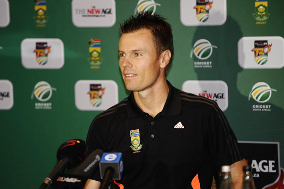 Proteas stand-in T20 captain John Botha speaks to the media during the South African Captain's press conference
