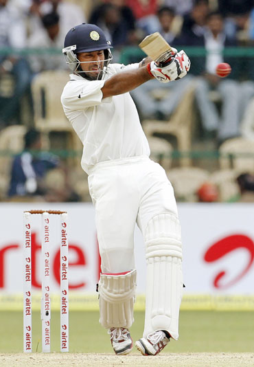 Pujara has made a name for himself in Test cricket