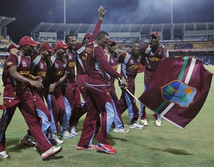 Stats: Windies second after India to win all three ICC tournaments