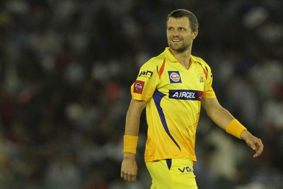 Chennai Super King player Dirk Nannes