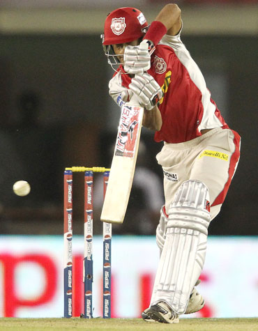 Gurkeerat Mann Singh of Kings XI Punjab