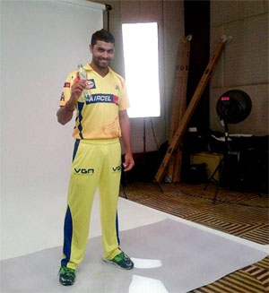 Dhoni takes the mickey out of 'Sir Ravindra Jadeja'