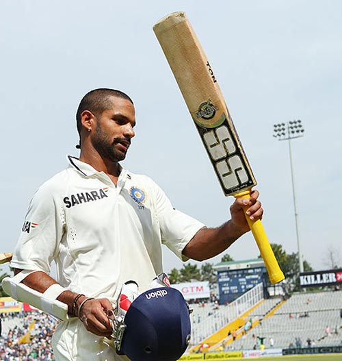 Dhawan could return to action 'very soon'