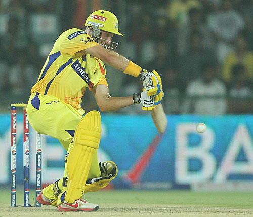 Stats: Run-machine Hussey is highest scorer for CSK
