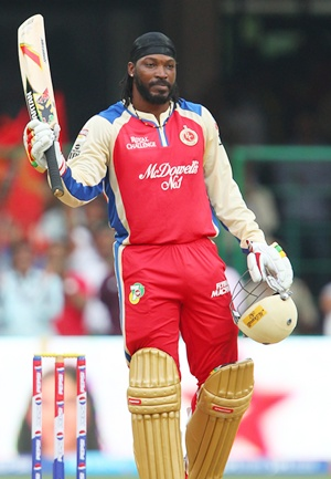 IPL: Gayle's carnage leads Bangalore to record win