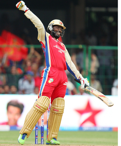I went bizarre and it actually paid off: Chris Gayle
