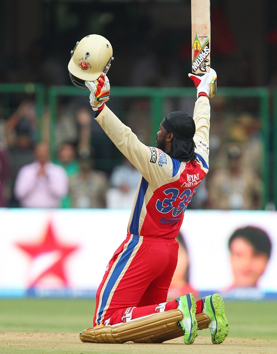 IPL PHOTOS: Gayle hits fastest T20 hundred