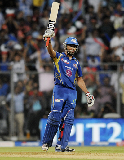IPL: Rohit Sharma guides Mumbai to narrow win over Punjab