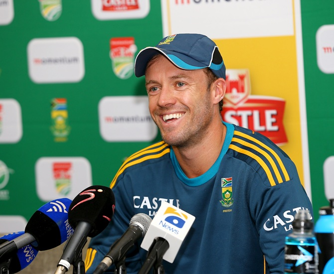 Proud to beat the No 1 ODI team, says SA skipper A B de Villiers