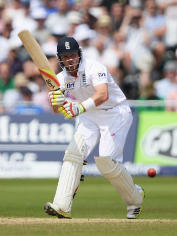 Ian Bell of England hits out