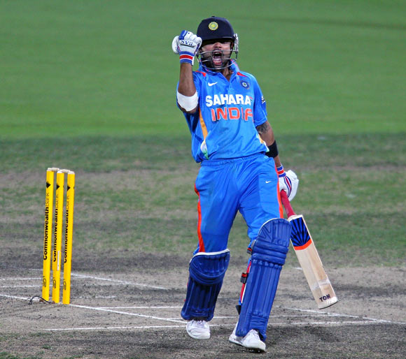 Run-machine Kohli betters Tendulkar's record!