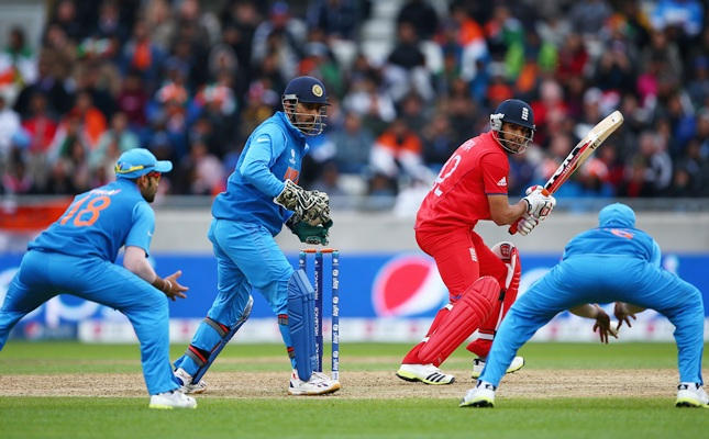 Ravi Bopara of England hits out