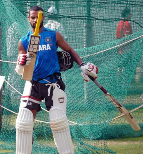 'Well-prepared' Dhawan set for Test debut