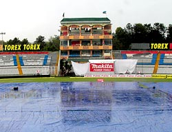 Day 1 of Mohali Test match washed out