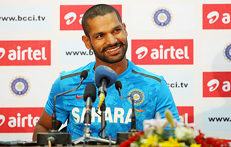 Dhawan takes charge after Smith, Starc rescue act