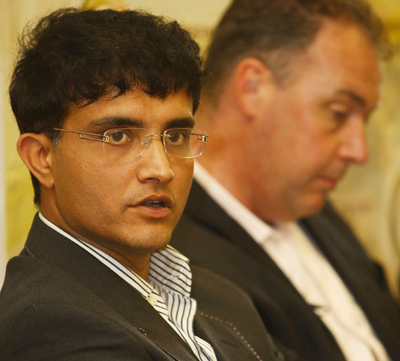 I don't want to rate this Australian side: Sourav Ganguly