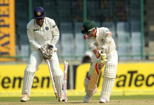 PHOTOS: India v Australia, Delhi Test, Day 2