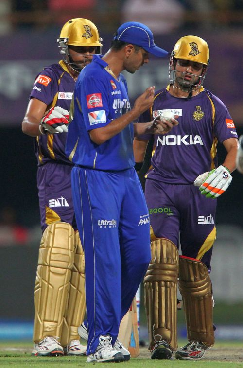 No harsh words exchanged with Dravid: Gambhir