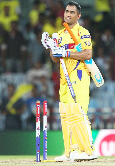 PHOTOS: Dhoni keeps focus by humming songs