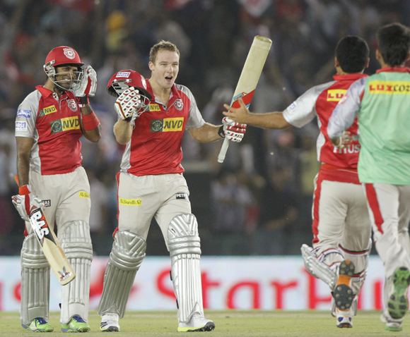 IPL PHOTOS: Kings XI Punjab v Royal Challengers Bangalore