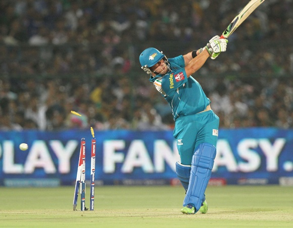 Aaron Finch of Pune Warriors
