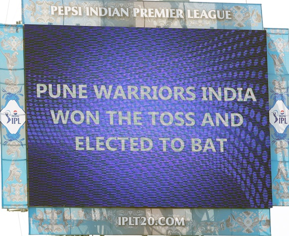 IPL PHOTOS: Pune Warriors vs Mumbai Indians