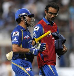 'Tendulkar doubtful for Royals clash'