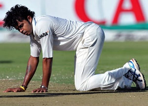 S Sreesanth, one of the three players accused of spot-fixing