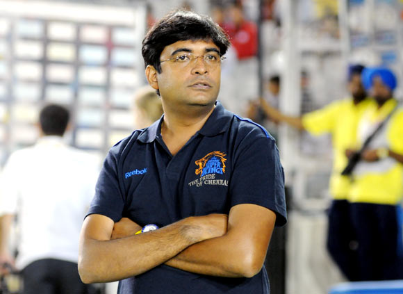 Chennai Super Kings CEO Gurunath Meiyappan