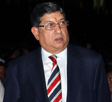 BCCI president N Srinivasan's statement