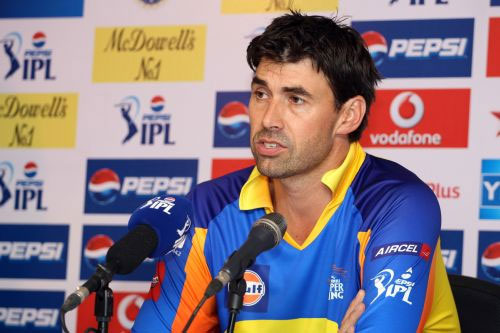 CSK coach Stephen Fleming