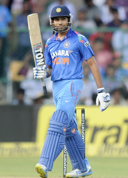 Figure out Rohit Sharma's sensational 209 at Bangalore!