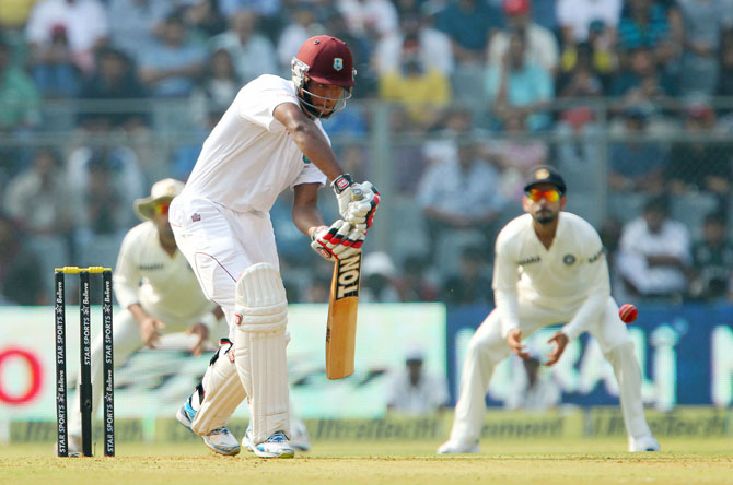 Kieran Powell of West Indies during day one