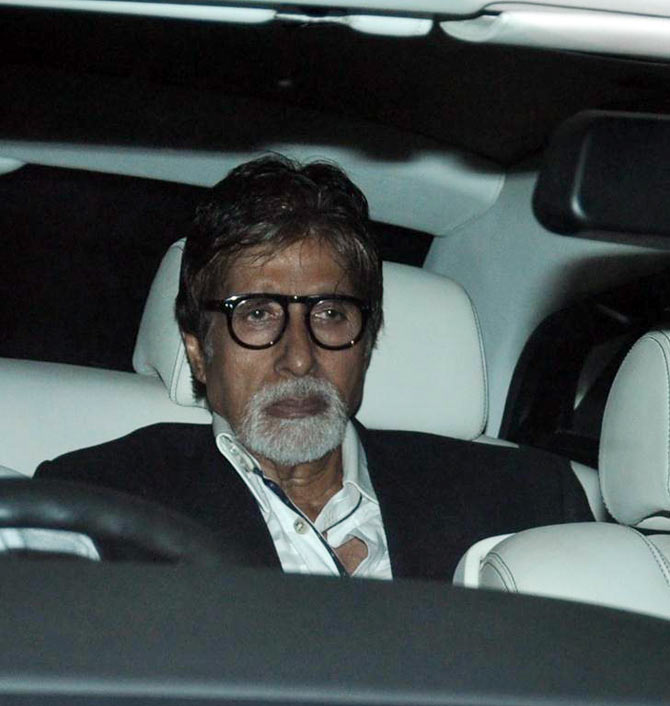 Amitabh Bachchan walked in with Jaya Bachchan