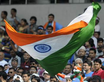 'I will waive the tri-colour in every match India plays at home'