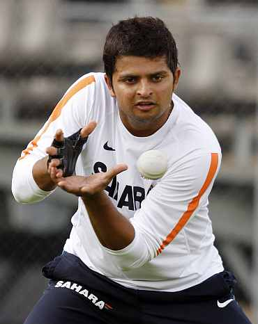 Suresh Raina could be drafted in