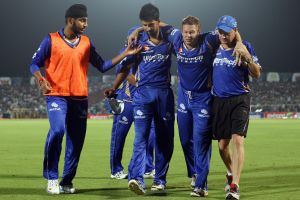 Royals dealt a blow as Hodge ruled out of CLT20 final