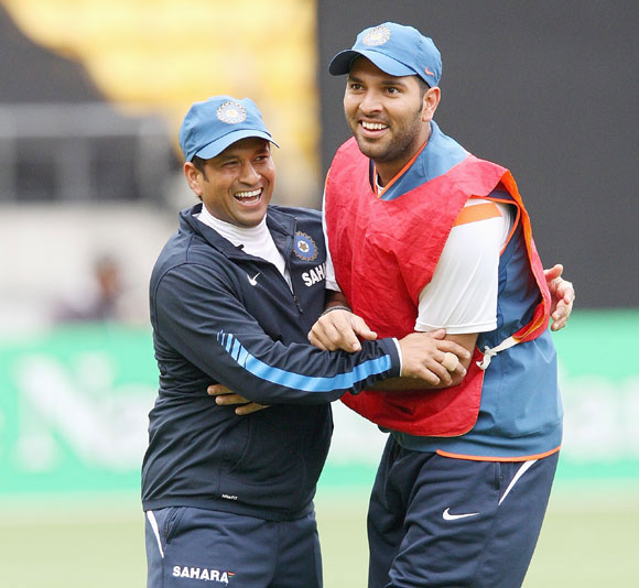 Sachin will always be very special to me: Yuvraj