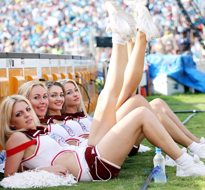 At one point, even the cheerleaders became controversial.
