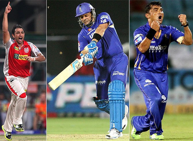 Who was the oldest debutant in the IPL in 2013?