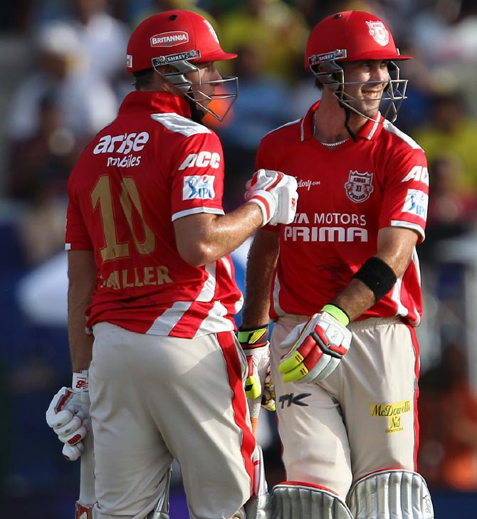 IPL PHOTOS: Maxwell, Miller blast Punjab to victory over Chennai