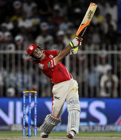 Maxwell, Balaji help Punjab destroy Hyderabad and top IPL table