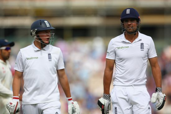 Gary Ballance and Alastair Cook