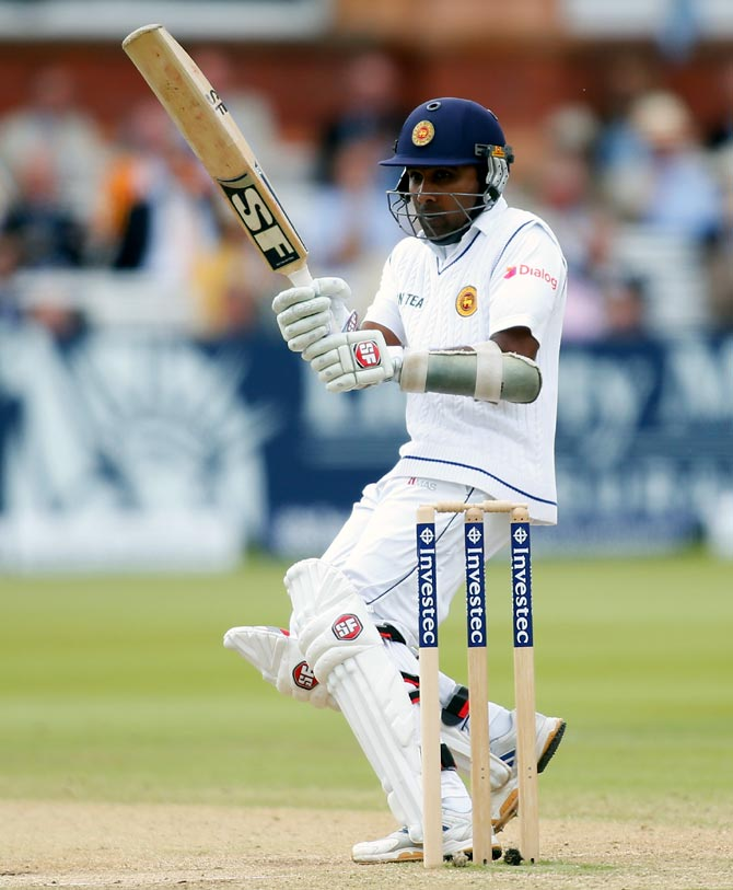 Mahela Jayawardene of Sri Lanka
