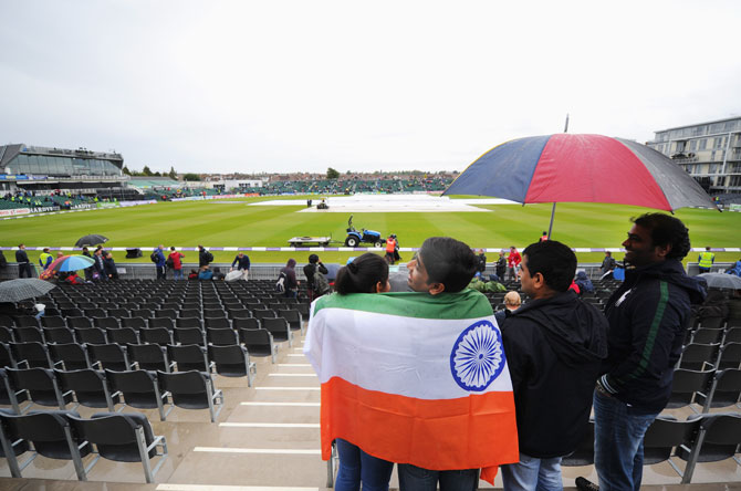 PHOTOS: Rain washes out India-England ODI series opener in Bristol