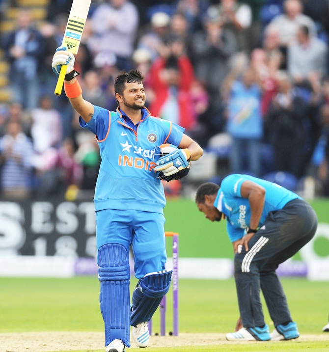 Dhoni heaps praises on Raina
