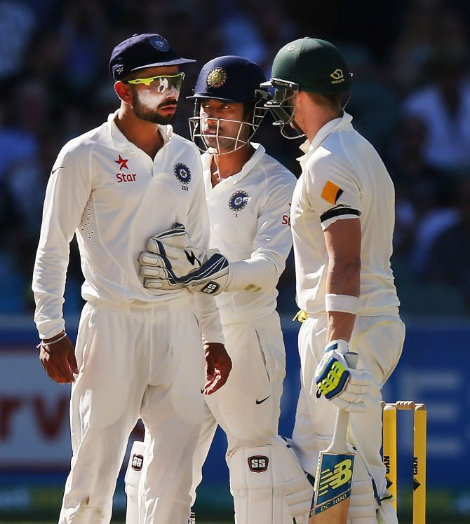 Virat Kohli and Steve Smith were famously involved in an altercation during India's tour Down Under during the Australian summer of the 2014-2015 season