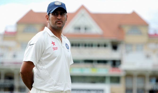 Revealed! Why Dhoni has failed the Test - Rediff Cricket