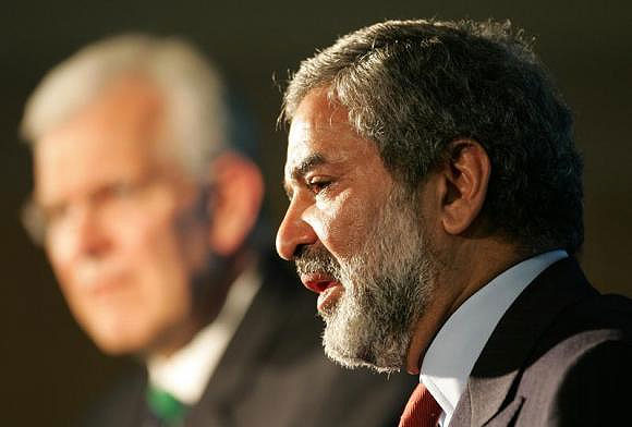 Former president of the International Cricket Council (ICC) Ehsan Mani