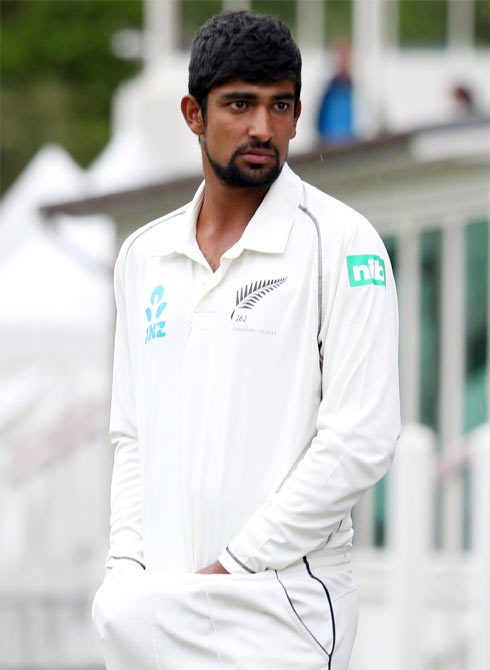 Ish Sodhi of New Zealand